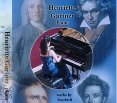 DVD Henriette Gärtner London 2008